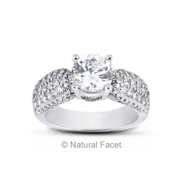 1-69ctw-D-VVS1-Ideal-Round-Diamonds-Platinum-Vintage-Engraved-Accents-Ring-5-1mm