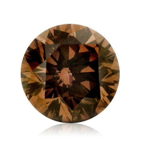 0.76ct Brown-SI1 Round Diamond AGI Certified