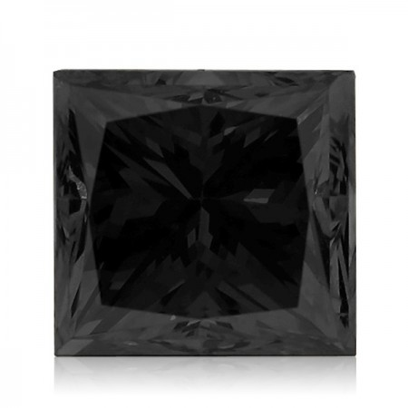3.07ct Black Princess Diamond AGI Certified