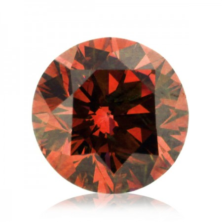 2.02ct Red-SI1 Round Diamond AGI Certified