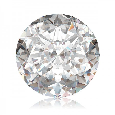 0.76ct D-SI2 Round Diamond AGI Certified