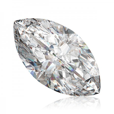 1.51ct D-SI1 Marquise Diamond AGI Certified