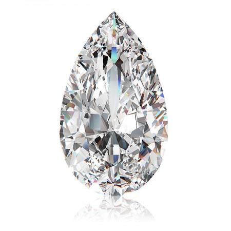 3.33ct D-SI2 Pear Diamond AGI Certified