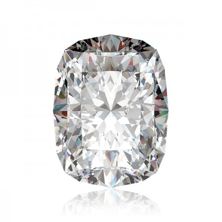 3.03ct E-SI1 Rectangular Cushion Diamond AGI Certified