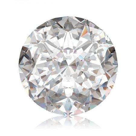4.03ct F-I1 Round Diamond AGI Certified