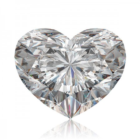 1.5ct F-VS2 Heart Diamond AGI Certified