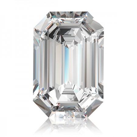 1.55ct G-SI1 Emerald Diamond AGI Certified