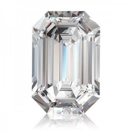 2.33ct G-VS2 Emerald Diamond AGI Certified