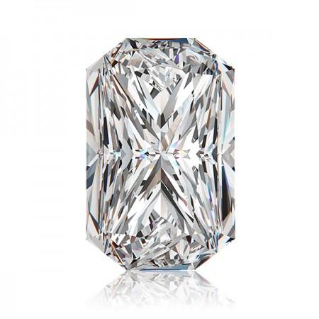 1.28ct H-SI1 Rectangular Radiant Diamond AGI Certified